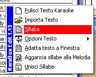 Come inserire il testo in un midi file - Finestra in sillabe ...